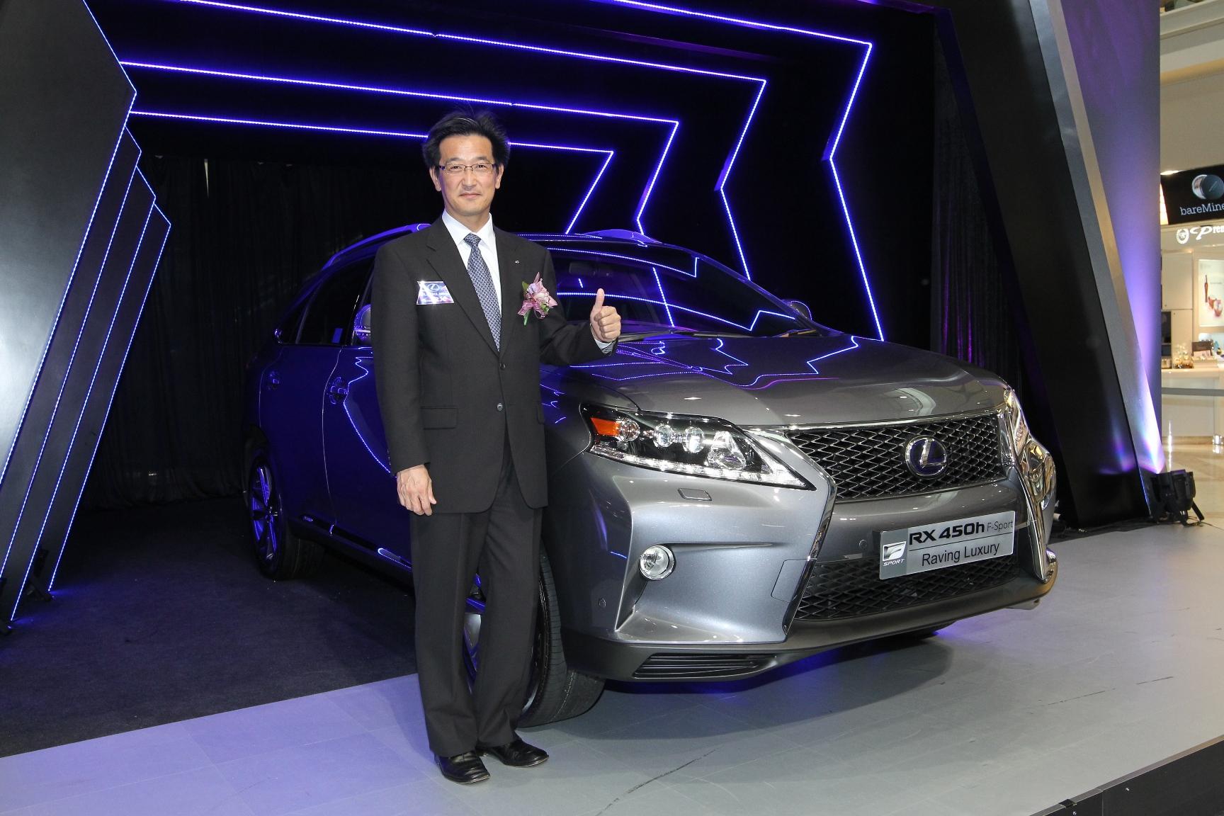 RX Launch_1_Lexus RX首席工程師勝田隆之先生.JPG
